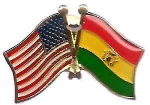 Pack of 24 USA American Colorado State Friendship Flag Bike Hat Cap lapel Pin