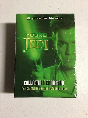 Decipher Star Wars TCG//CCG Young Jedi Battle of Naboo Starter Deck