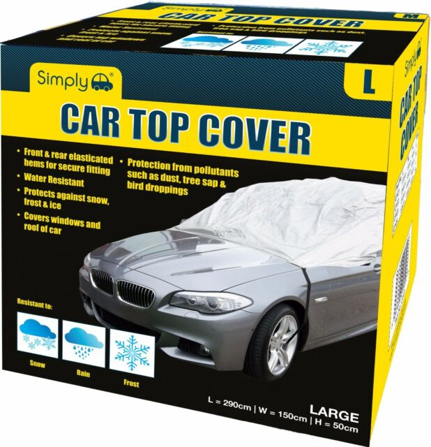 Sakura Water Resistant Car Top Cover Water Resistant Frost Ice UV Rays Large
