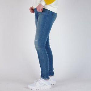 Levi-039-s-711-Skinny-Blau-Damen-Jeans-28-32