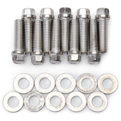 Edelbrock 8559 Intake Manifold Bolt Kit For Pontiac 326-455 c.i.d.