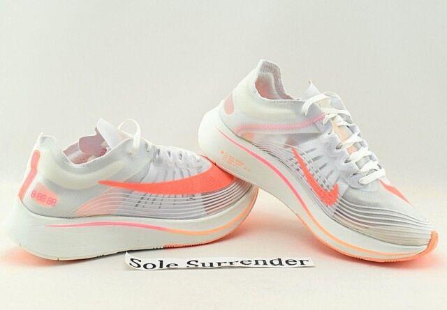 more photos 466c7 d0e17 Women's Nike Zoom Fly SP - SIZE 7 - AJ8229-108 Orange Pink Vapor Peach