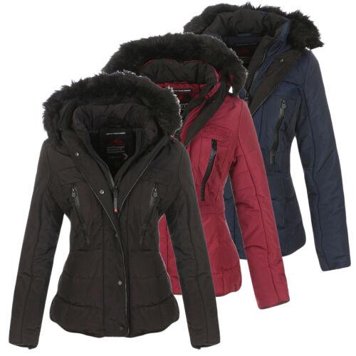 Chaqueta mujer invierno Parka de de para geográfica Chaqueta cálida forro  invierno Abrigo Noruega de con ... fab1b4367bb3