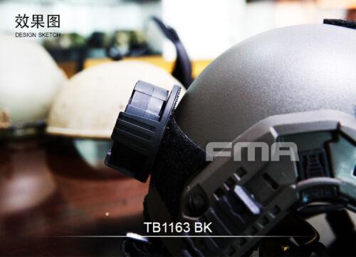 FMA Gear Wheel Box Storage Case Lockout Dip Can for Helmet TB1163 BK//DE