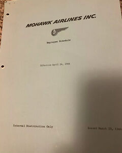 Mohawk-Airlines-Employee-Schedule-1966-24-Pages