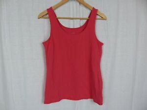 J-Jill-Women-039-s-Pink-Perfect-Tank-Top-Scoop-Neck-Shirt-Cotton-Blend-Size-Medium