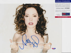 Rose-McGowan-Sexy-Signed-Autograph-8x10-Photo-PSA-DNA-COA-1