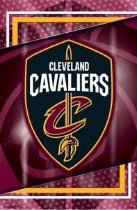 CLEVELAND CAVALIERS - LOGO POSTER - 22x34 NBA BASKETBALL 16389