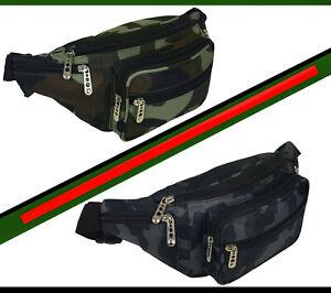 Guerteltasche-Bauchtasche-Sport-Reise-Outdoor-Nato-Army-Camouflage-Muster-8490