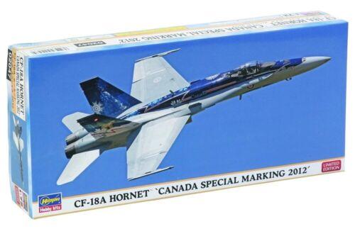 Hasegawa 1//72 Scale Model Kit RCAF CF-18A Hornet Canada Marking 2012 Limited