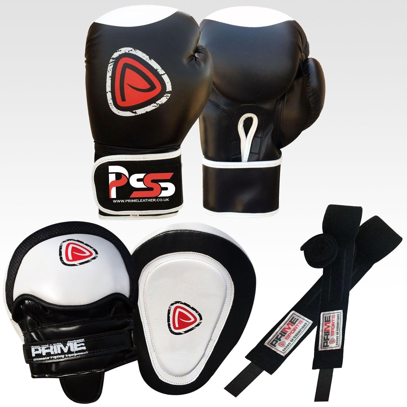 MMA guantoni box sacco da boxe da adulto guantoni Guanti da passata fascia mano