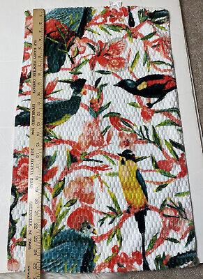 32/'/' X 62/'/' NWT Opalhouse beach towel Floral//Bird