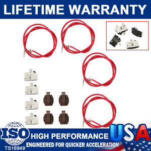 4 Pack 4387535 Refrigerator Relay and Overload For Whirlpool Kenmore Compressors