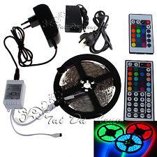 5M 10M 15M SMD 3528 5050 5630 300LEDs RGB White LED Strip Light 12V Power Supply