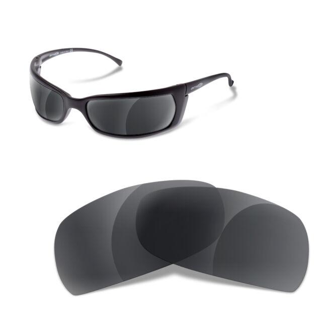 1e6abc17b0 Polarized Replacement Lenses for Arnette Slide 4007 Black Iridium Color
