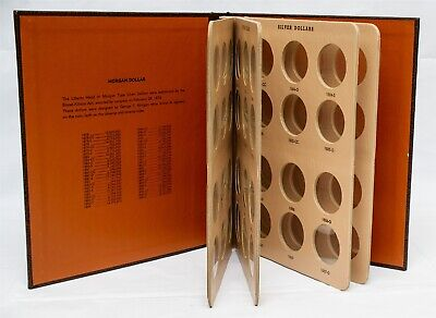 Dansco Morgan Dollars Quality Album 7178 for Collection of Coins Year 1878-1890