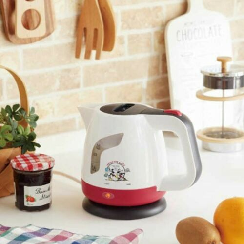 Disney Mickey Mouse and Minnie mouse Electric Kettle 0.8L Japan with Tracking 4975192080306