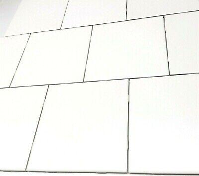 6x6 0799 Matte Pearl White Ceramic Tile Backsplash Wall Floor Bath Kitchen Ebay