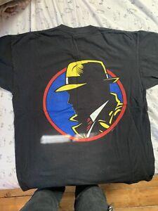 Vintage 80s dick tracy movie T-shirt single stitch 5050 size L