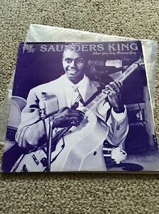 Saunders-King-What-039-s-The-Story-Morning-Glory-Vinyl-Blues-Boy-BB303