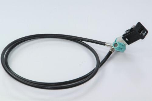 cable 120cm handschufach nuevo cic retrofit usb hembra Remolque para BMW