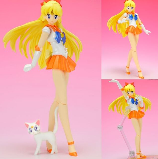Sailor Moon Sailor Venus Aino Minako S.H.Figuarts Pretty Guardian Action Figure
