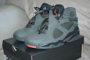 8df5a988bf1e78 Air Jordan VIII 8 Take Flight Olive Sequoia Undefeated MENS Size 8.5 ...