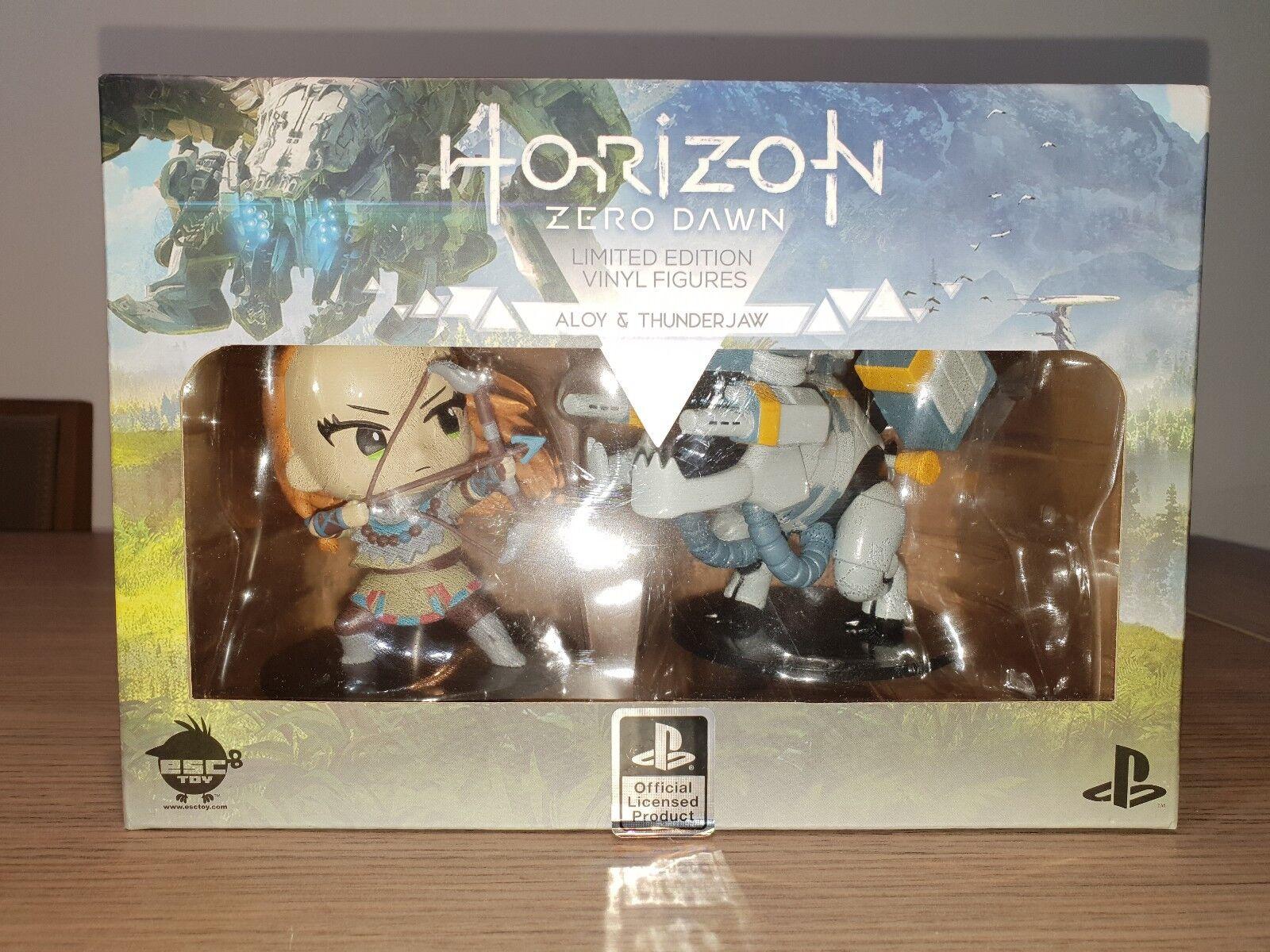 HORIZON ZERO DAWN SET FIGURES VINYL (NEW SEALED)