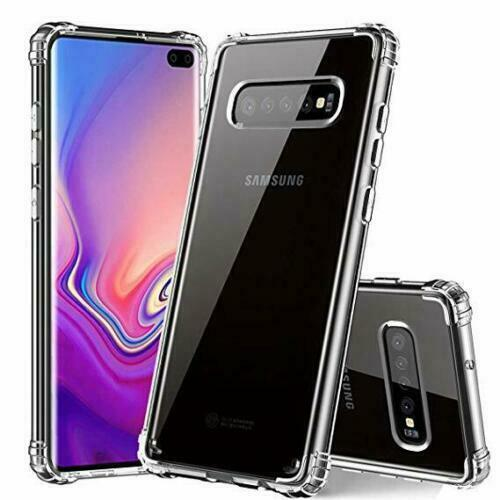 For Samsung Galaxy S8 S9 S10e Plus Silicone Gel Clear ShockProof Case Cover