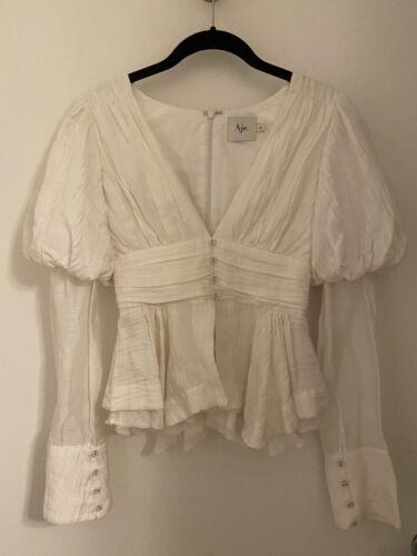 Aje Puff Long Sleeve shirt Aimee Song Style