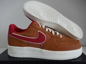 pretty nice 71fa7 cc4a2 Image is loading NIKE-AIR-FORCE-1-07-LV8-TAWNY-BROWN-