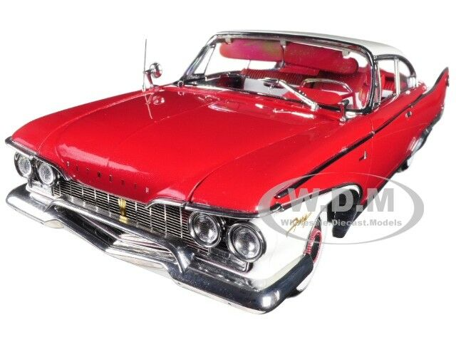 1960 PLYMOUTH FURY HARD TOP PLUM RED DIECAST MODEL 1 18 PLATINUM BY SUNSTAR 5424