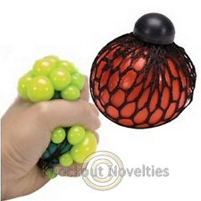 Mesh Ball Play Squeeze Sensory Stress Reliever Squishy Toy Gag Gift Novelty Item