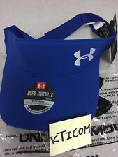 NWT UNDER ARMOUR Women's Fly By Visor Running Reflective logo Adjustable 3 color