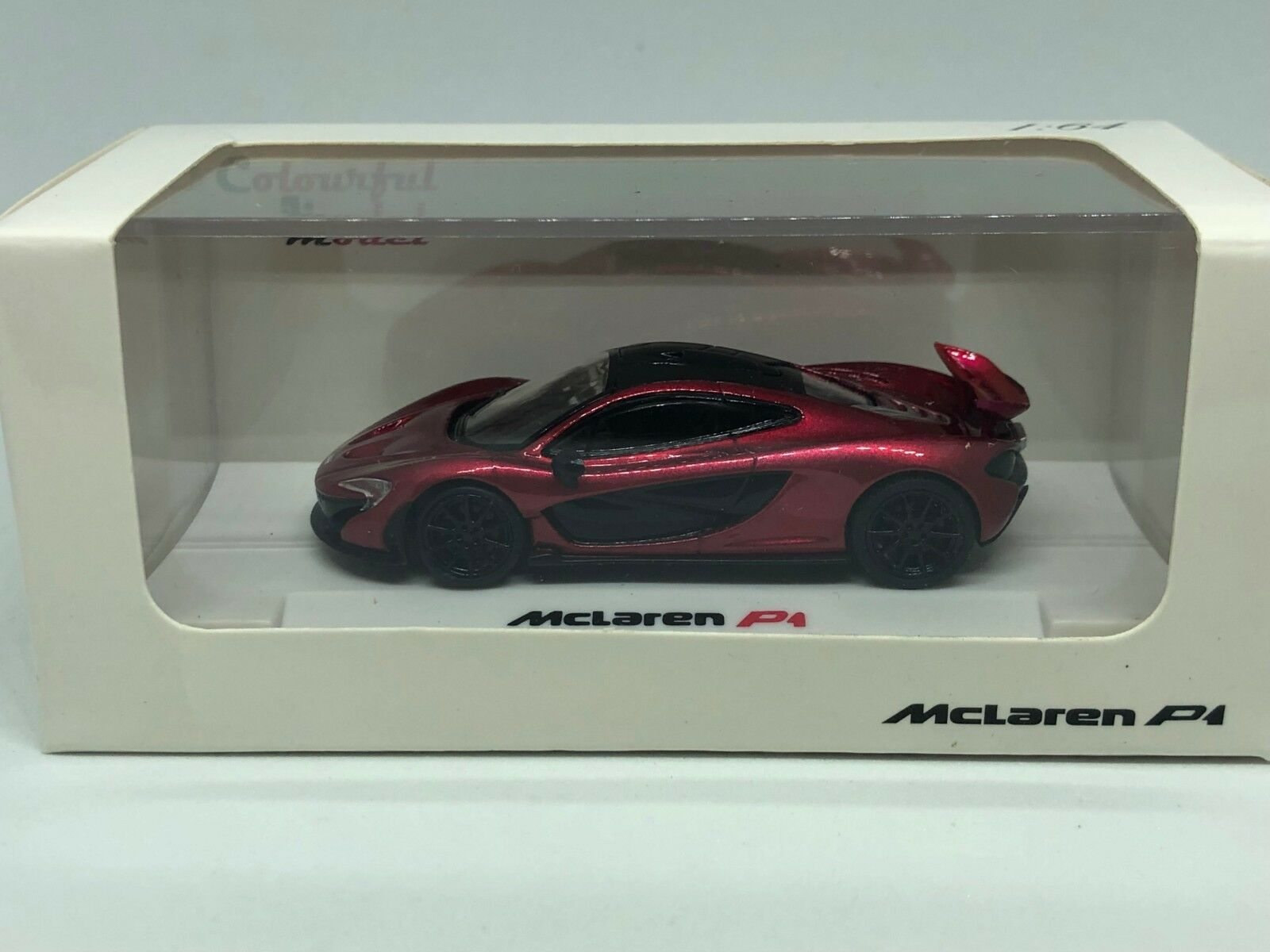 COLORFUL 1 64 MCLAREN P1 P1 P1 RED  KYOSHO 424c85