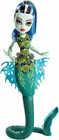 Monster High Great Scarrier Reef Glowsome Ghoulfish Frankie Stein Doll on sale