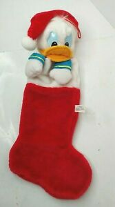 Disney Donald Duck Vintage Christmas Stocking