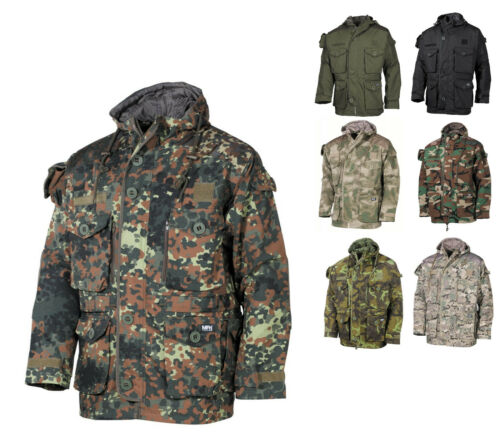 Nouveau commandement Veste Rip Stop Smock Parka avec capuche veste de champ utilisation Veste s-3xl