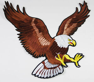 Huge-Us-Air-Force-Bald-Eagle-Jacket-Patch-Patriotic-Embroidered-Patch-US149