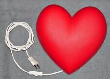 Ikea Lampe Herz Smila Hjärta Wandlampe Wandleuchte Leuchte Kinderlampe Rot a