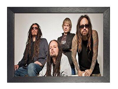 Korn American Nu Metal Band Poster Davis Music Star Picture Legend California