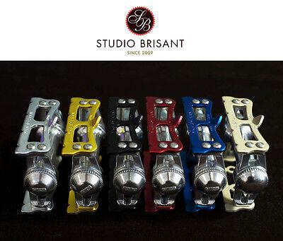 MKS Sylvan Track Pedale / Pedals * Silber * Schwarz * Rot * Gold * Blau * Prime