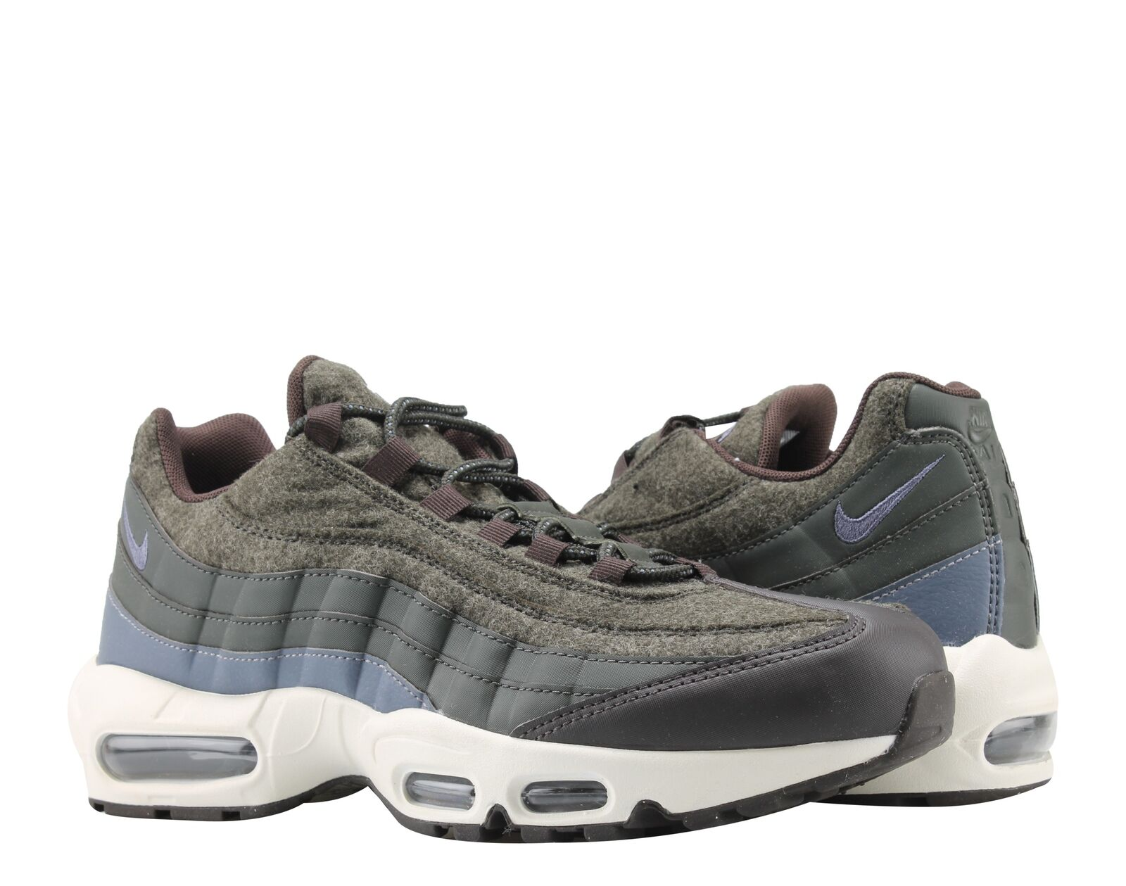 Nike Air Max 95 Premium SequoiaLight Carbon Men's Running Shoes 538416 300