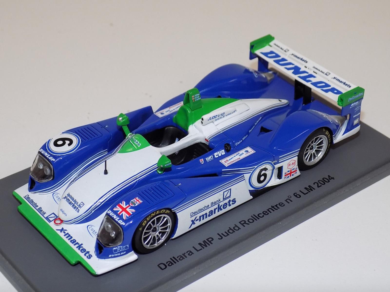 1 43 Spark Dallara LMP Judd  6 24 H DU MANS 2004 S0155