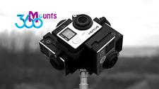 GoPro 360 Gradi Panorama Mount Rig GO PRO HERO 3, 3+ 4 Accessorio
