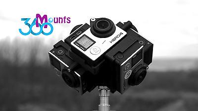 GoPro 360 Degree Panorama Mount Rig Go Pro HERO 3, 3+ 4 Accessory