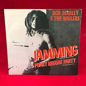 BOB-MARLEY-amp-THE-WAILERS-Jamming-1977-UK-7-034-vinyl-Single-EXCELLENT-CONDITION