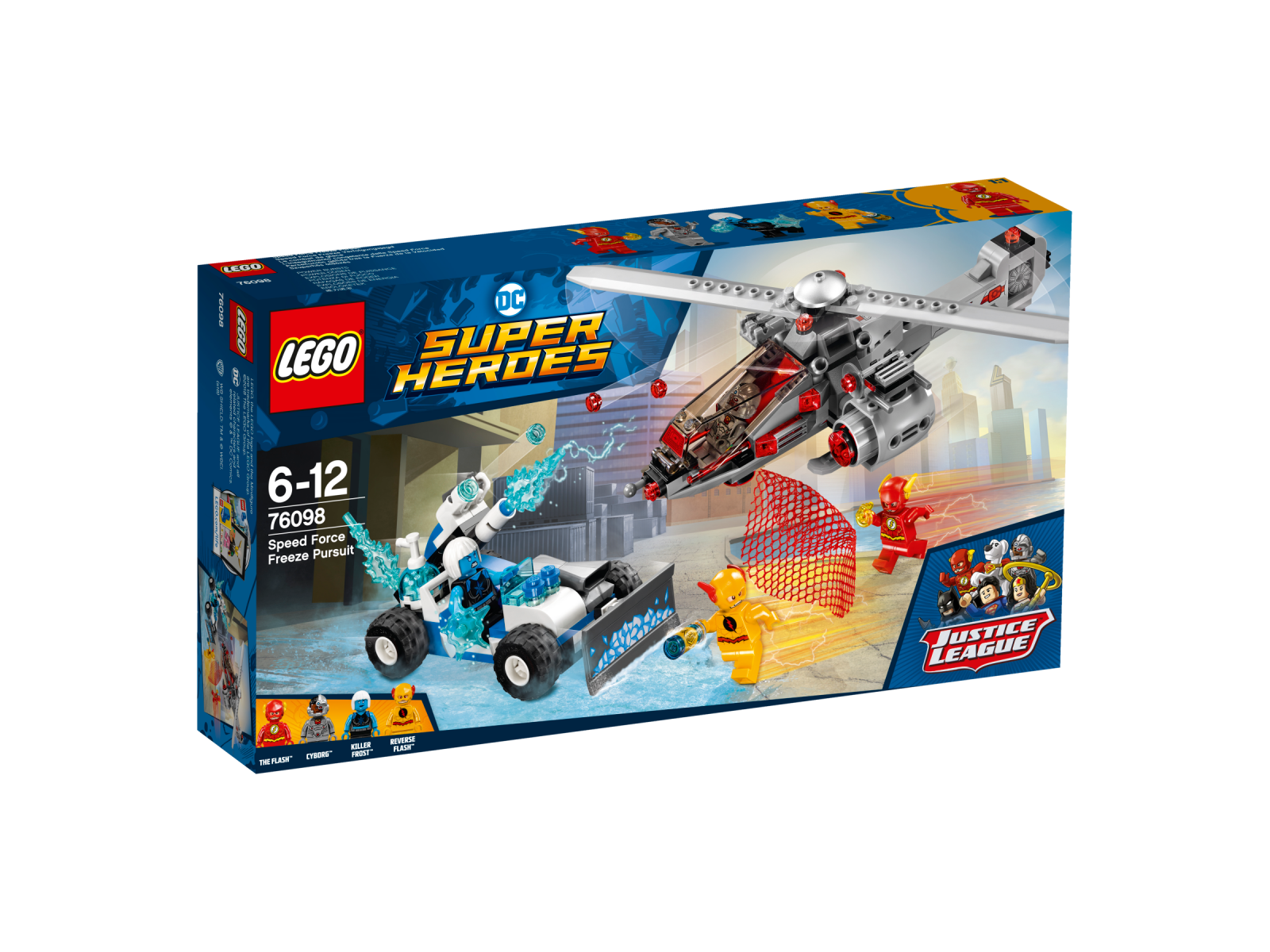 LEGO® DC Comics Super Heroes 76098 Speed Force Freeze Verfolgungsjagd NEU OVP