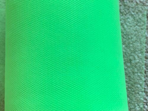 5 M de 150 mm Large Soft nylon vert vif Tulle Filet Tissu Mariage//Tutu//Artisanat
