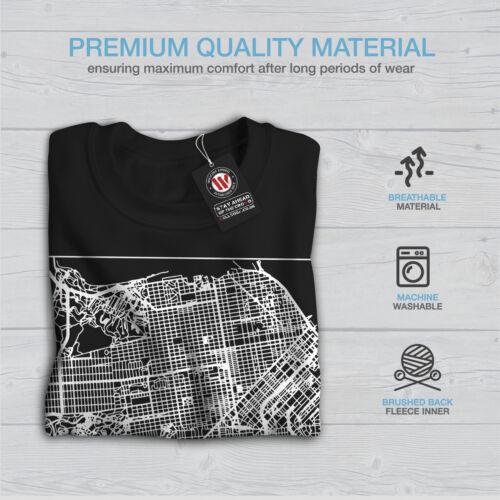 San Francisco Map Fashion Men Sweatshirt NEWWellcoda
